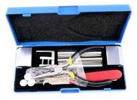 무료 배송 전문가 용 12 in 1 HUK 잠금 장치 분해 도구 자물쇠 도구 키트 잠금 장치 수리 픽업 세트 제거