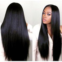 In stock Middle part wig beauty simulation human hair Wig lo...