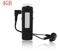 UR-12 USB قرص الصوت الرقمي مسجل الصوت 4GB / 8GB مشغل MP3 زر واحد + تسجيل وقت طويل