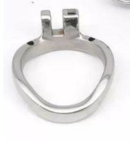 Edelstahl Keuschheitsgürtel Cock Cages Zusätzliche Ring Cock Ring 3 Größe Wählen Sie Erwachsene BDSM Sexspielzeug Für Männer