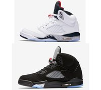 5s Classic 5 black metallic red blue suede white cement camo...