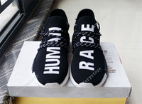 Vibrant Colors NMD Human Race Pitch Black, Pharrell Williams ...