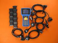 Teşhis T300 Anahtar Programcı Aracı T 300 Otomatik Transponder T-Kodu Çok Marka Araçlar için Tarama Kabloları Tam Set
