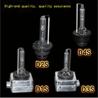 35W D1S D2S D2R D3S D4S D4R 6000K Xenon HID vervangende lampen diamant wit metalen stents basis 12v auto koplamp lampen hoofdlichten