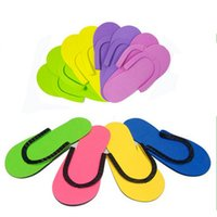 1632f4d037964e 8 Photos Wholesale eva disposable flip flops online - EVA Disposable Slipper  men and women fip flop slippers