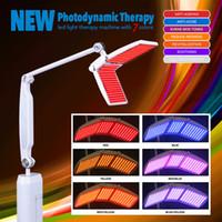 صالون تجميل استخدام PDT LED آلة تجديد الجلد ضوء العلاج آلة الفوتون مع 7 ألوان المهنية مع CE