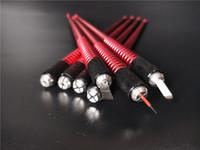 5 قطع microblading القلم دليل ماكياج الحواجب الدائم آلة الوشم القلم ل جولة الإبر 3d التطريز الحاجب الشفاه كحل