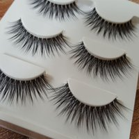 Sexy 100% Handmade 3D hair Beauty Thick Long False Eyelashes...