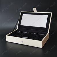Однослойные ювелирные коробки для ювелирных изделий Подходит для европейских приветов в стиле Pandora Charms Beads Bears Bracels и ожерельяменки DIY ювелирные изделия