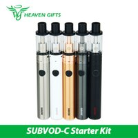 Wholesale- 100% Original Kanger SUBVOD- C Starter Kit 2. 8ml Su...