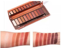 Le plus récent maquillage Nude Heat Palette Eye Shadow Palette 12 color Eyeshadow DHL de haute qualité Livraison gratuite