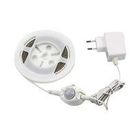 10 pcs 2 M 60 LEDs SMD3528 Sensor de Movimento À Prova D 'Água Flexível LED Faixa de Luz de Cabeceira Automático Desligar Temporizador Luz Da Noite