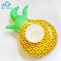 Coppe gonfiabili in pvc portabicchieri gonfiabili ananas anguria lemon drink cup holder pool floating bar sottobicchieri holder popolare 2bj