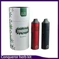 Conqueror Dry Herb Vaporizzatore Starter Kit penna vape Bubspirit SUBTWO 2200 mah capacità della batteria con schermo OLED elite 0268061