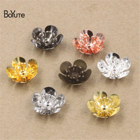 BoYuTe Wholesale Charms Filigree Flower 16*6MM 50 Pcs 7 Colo...