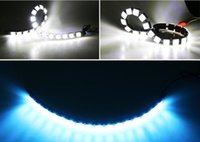 Car accessor Car COB DRL Driving Fog Light 6 LED Flexible Da...