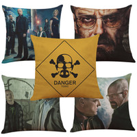 Breaking Bad Linen Cushion Cover Home Office Sofa Square Pil...
