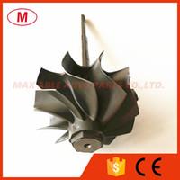 GT3076R GTX3076R GTX3067R Arbre à turbine TurbocompresseurRouet / Turbo Turbine Roue Arbre 55 / 60mm Garniture 84 10 lames