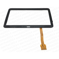 Touch Screen Digitizer Glass Lens con nastro per Samsung Galaxy Tab 3 10.1 P5200 P5210 DHL libero