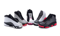 Hot black- pink- white Basketball XIII Women shoes hot new 13 ...