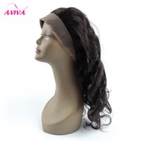 Brazilian Lace Frontal Closure 360 Elastic Band Full Frontal...