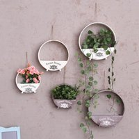 Free Shipping Flower Pots wooden Hanging Flower Pots, Balcony...
