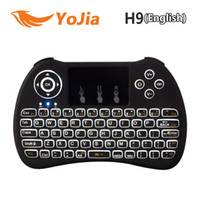 Original Backlight i8 i8+ H9 2. 4G Wireless English Keyboard ...