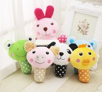Cute Animal Designs Dog Toys Pet Puppy Chew Squeaker Squeak ...