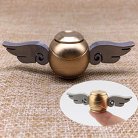 Fashion Golden Brass Snitch Fidget Spinner Harry Potter Meta...