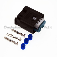 TE / AMP 3 broches / voie connecteur de restricteur auto connecteur, prise Throttl / feu arrière, prise électrique auto étanche pour BMW