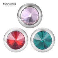 VOCHENG NOOSA Ginger Snap Charms Interchangeable Jewelry Sna...