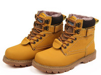 Unisex winter Martin Snow Boots men women Motorcycle Boots O...