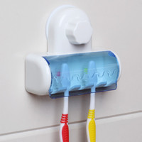 Toothbrush Holder with strong durable suction cup wall mount...