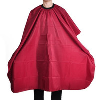 Fashion Hair Cutting Cape Cloth Apron Shade Red Waterproof S...