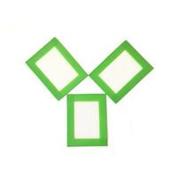 """3.25 """"X 4.5"""" Silikon-Gebäck-Matten-bunte kleine BPA freie Berufsgrad-Zwischenlagen-Blätter für das Kochen"""