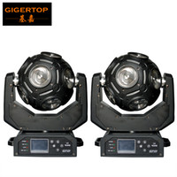Os mais recentes 2XLOT 12x20W CREE RGBW 4in1 Football LED Moving Head Light Grande Show Effect DJ Discoteca Festa Disco
