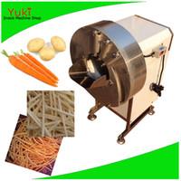Coupeur automatique de légumes électriques Chips de pomme de terre à usage de pommes de terre de pomme de terre de pommes de terre coupe machine à trancher la pomme de terre coupe-acier inoxydable