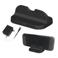 Şarj Şarj Standı Şarj Braketi Tutucu Hızlı Şarj Dock İstasyonu Anahtarı NS Konsolu Denetleyici Gamepad Için USB TYPE-C DHL