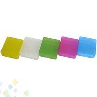 플라스틱 18650 배터리 케이스 보관 컨테이너 팩 4 * 18650 또는 8 * 18350 CR123A 16340 배터리 5 색 휴대용 박스 DHL 무료