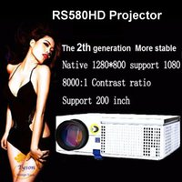 Freeship new upgraded 3D HD Projector ViEYiNG 1280*800 Multi...
