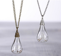Bijoux pissenlit collier, véritable graine de pissenlit en pendentif ampoule de verre, ampoule de verre pendentif Nature collier de chandail de fleur sèche