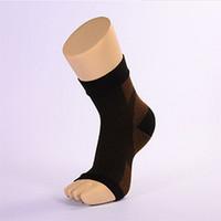 2017 Sports Tornozelo Compression Socks Copper Fiber Proteção Tornozelo Proteção compressão articular Elastic Socks Descompressão Esporte pressão para