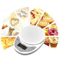 5000G 1G Digitale Keuken Voedselschaal Dieet Postdienst Steelelyard Balance Gewicht Gewicht LCD elektronisch meetinstrumenten Lage batterij 5kg x 1g