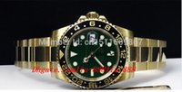 Montre-bracelet de luxe NEW Sapphire Green Index 116718 CERAMIC automatique Montre-bracelet pour homme
