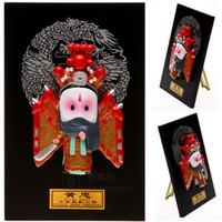 Tipo di fumetto Figurina opera maschera maschera pendente ornamenti Arredamento per la casa regalo Huang Zhong tre affari esteri all'estero