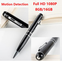Penna Full HD 1080P DVR H.264 mini penna fotocamera da 8 GB 16 GB Mini DV Video Recorder con Motion Detetction Porta HDMI