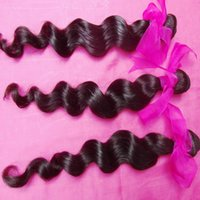 8A Human hair unprocessed virgin Indian loose wave 3 bundles...