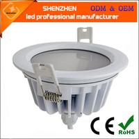IP65 Wodoodporna LED Downlight 5 W 7W 9W 12W 15W 18W 24W LED LED na miejscu do łazienki LED Wbudowana lampa sufitowa AC 110 V 220 V