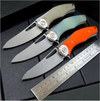 Più nuovo suggerito coltello da caccia di campeggio del coltello di caccia di campeggio di acciaio placcato di titanio di Knight D2 59-60HRC di buio suggerito 1pcs trasporto libero