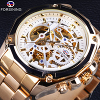 Forsining Steampunk Automatic Mechanical Watch Movement Gold...